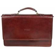Кожаный портфель Gianni Conti 901040 brown