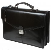 Кожаный портфель Gianni Conti 901830 black