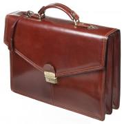 Кожаный портфель Gianni Conti 901830 brown