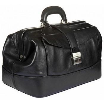 Саквояж кожаный Gianni Conti 911094 black