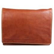 Деловая сумка через плечо Gianni Conti 912150 tan