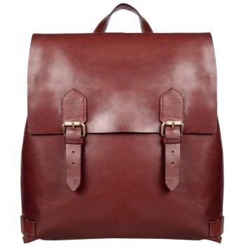 Кожаный рюкзак Gianni Conti 912239 dark brown