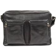 Деловая сумка через плечо Gianni Conti 912304 black