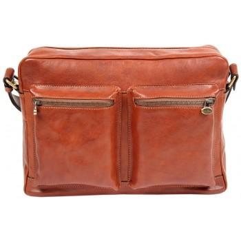 Деловая сумка через плечо Gianni Conti 912304 tan