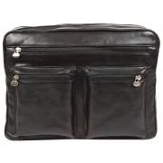 Деловая сумка через плечо Gianni Conti 912307 black