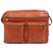 Деловая сумка через плечо Gianni Conti 912307 tan