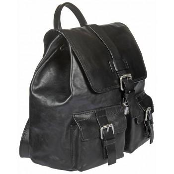 Кожаный рюкзак Gianni Conti 912474 black