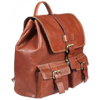 Кожаный рюкзак Gianni Conti 912474 tan