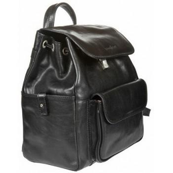 Кожаный рюкзак Gianni Conti 913159 black