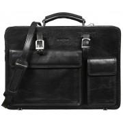 Кожаный портфель Gianni Conti 9401003 black