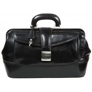 Саквояж кожаный Gianni Conti 9401094 black