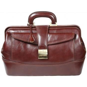 Саквояж кожаный Gianni Conti 9401094 brown