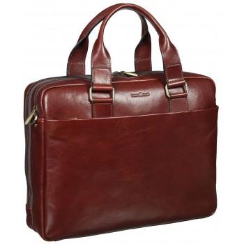 Деловая сумка Gianni Conti 9401295 brown