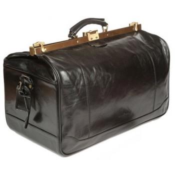 Саквояж кожаный Gianni Conti 9402703 black