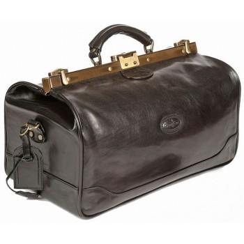 Саквояж кожаный Gianni Conti 9402704 black