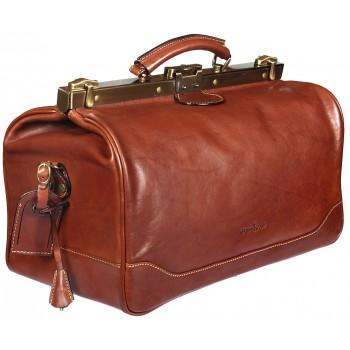 Саквояж кожаный Gianni Conti 9402704 brown