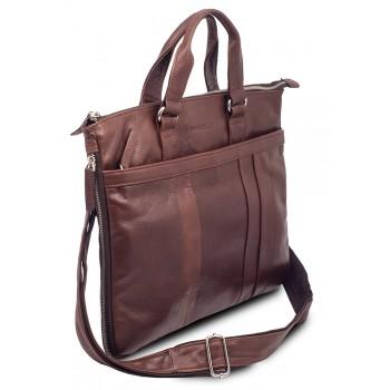 Деловая сумка Hadley Page Brown