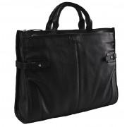 Кожаная сумка Hadley Pine Black