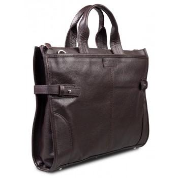 Кожаная сумка Hadley Pine Brown