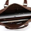 Винтажный кожаный портфель JMD 7088Х