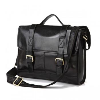 Кожаный портфель JMD 7101A