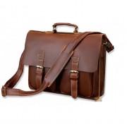 Кожаный портфель JMD 7105x-1