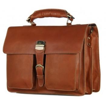 Кожаный портфель JMD 7164B