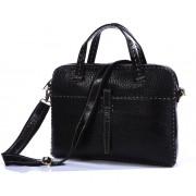 Кожаная мужская сумка JMD 7191A