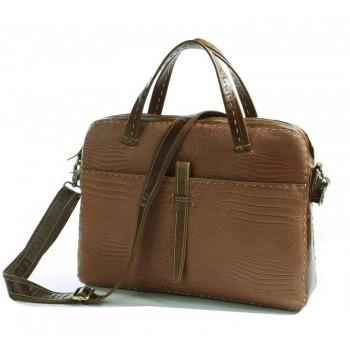 Бежевая мужская сумка JMD 7191B
