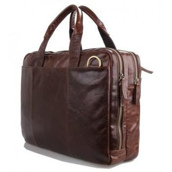 Деловая сумка JMD 7092-2C dark brown