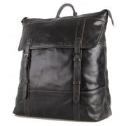 Кожаный рюкзак JMD 7203J grey