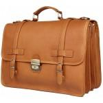 Кожаный портфель JMD 7397B