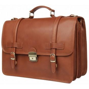Кожаный портфель JMD 7397X