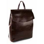 Женский кожаный рюкзак JMD 8504-1 coffee