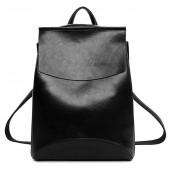 Женский кожаный рюкзак JMD 8504-1 black