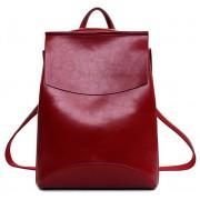 Женский кожаный рюкзак JMD 8504-1 bordo