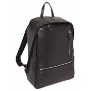 Кожаный рюкзак Lakestone Adams black