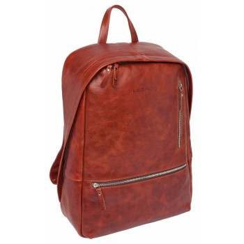 Кожаный рюкзак Lakestone Adams redwood