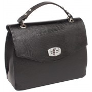 Женская кожаная сумка Lakestone Alison black