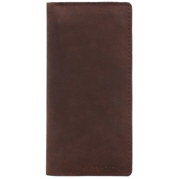 Кожаный клатч Lakestone Anvil brown