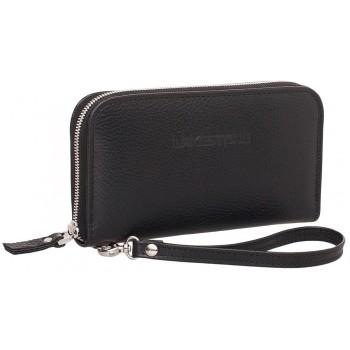 Кожаный клатч Lakestone Arnos black