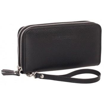 Кожаный клатч Lakestone Bantry black