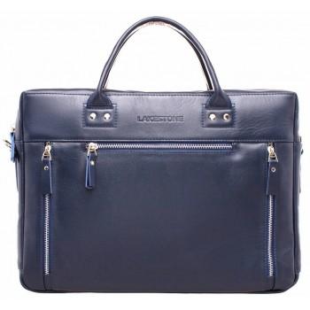 Деловая сумка Lakestone Barossa dark blue