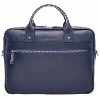 Деловая сумка Lakestone Bartley dark blue