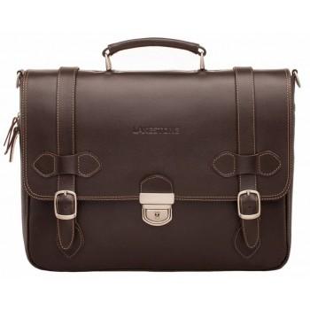 Кожаный портфель Lakestone Belmont brown