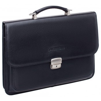 Кожаный портфель Lakestone Berkeley black