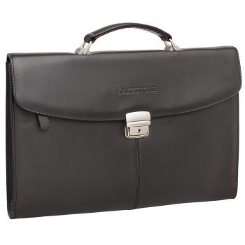 Кожаная папка-портфель Lakestone Boverton black