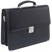 Кожаный портфель Lakestone Braydon black