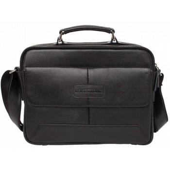 Деловая сумка через плечо Lakestone Button black