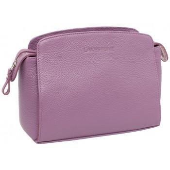 Женская кожаная сумка Lakestone Caledonia lilac
